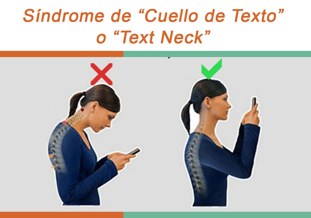 Síndrome de Cuello de texto o Text Neck - Teramedic